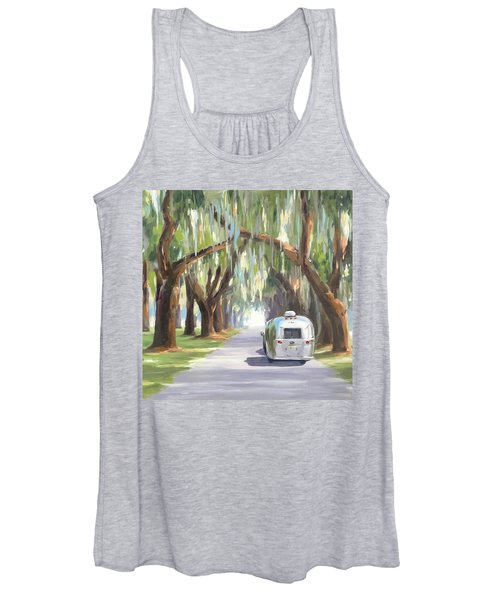 Tree Tunnel Women's Tank Top