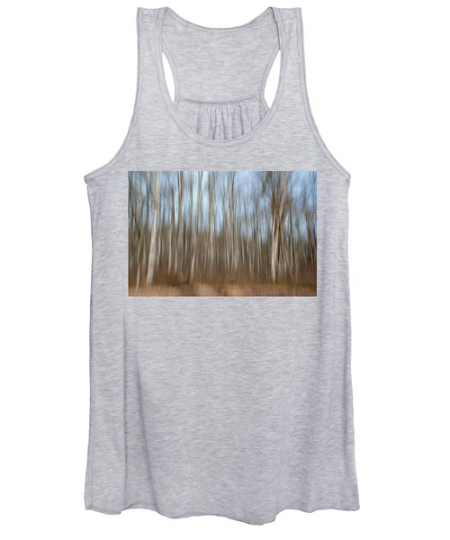 Trees In The Forest Women's Tank Top