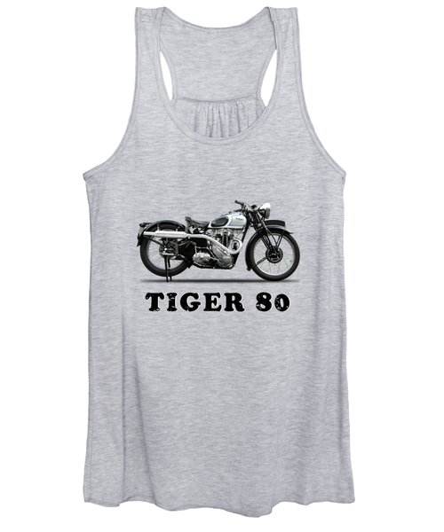 Triumph Tiger 80 - 1937 Women's Tank Top