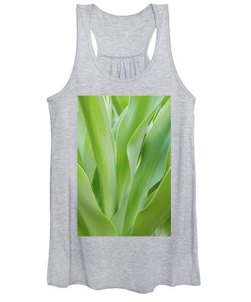 Tropical Leaf Women's Tank Top