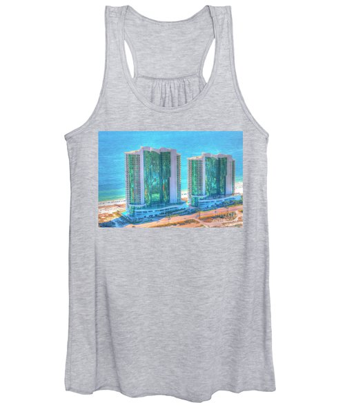 Turquoise Place Women's Tank Top