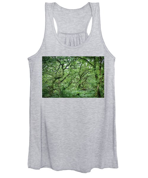 Twisted Forest Full Color Women's Tank Top