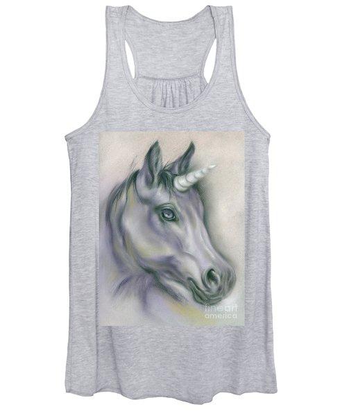 Unicorn Portrait Women's Tank Top