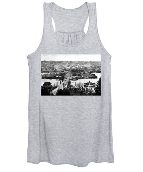 View East Over Olympia 1921 Women's Tank Top