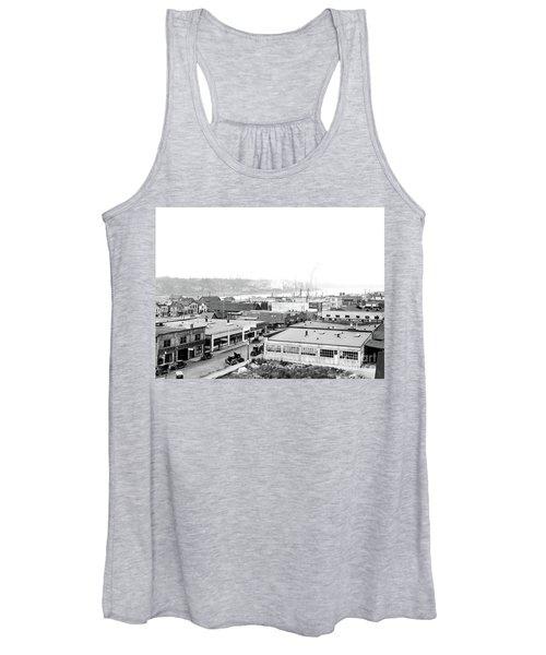 View Nw Over Olympia From Elks Building On Capitol Way 1929 Women's Tank Top