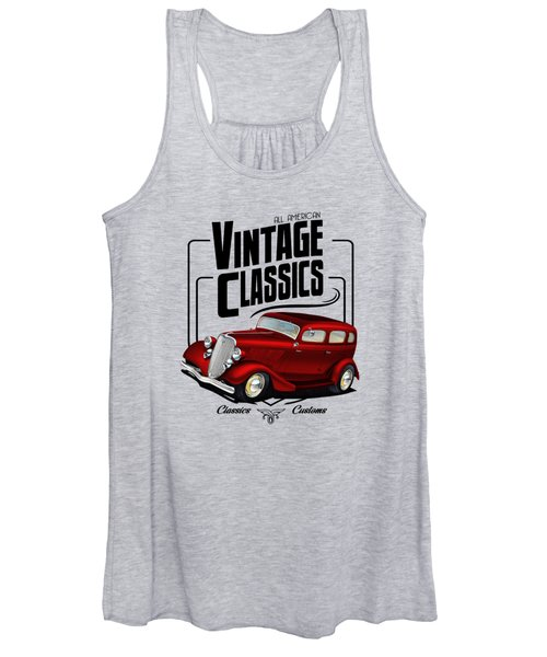 Vintage Classic Delivery Women's Tank Top