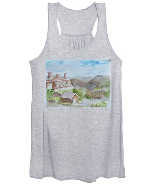 Virginia City Nevada Women's Tank Top