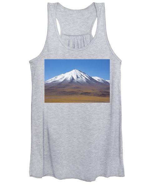 Volcano On The Altiplano Women's Tank Top