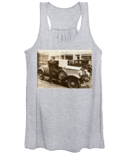 Wall Street Crash, 1929 Women's Tank Top