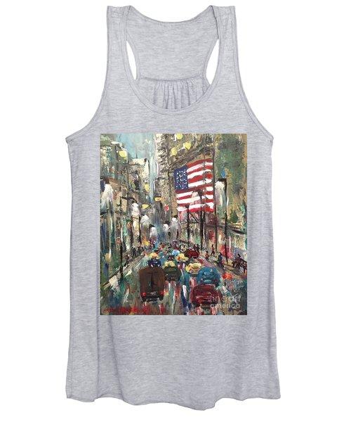 wall street NY Women's Tank Top