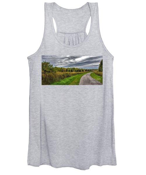 Walnut Woods Pathway - 2 Women's Tank Top