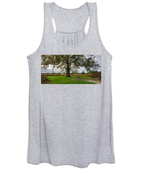 Walnut Woods Tree - 1 Women's Tank Top