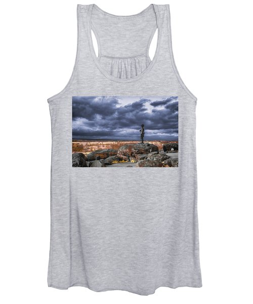 Warren In Infrared Women's Tank Top