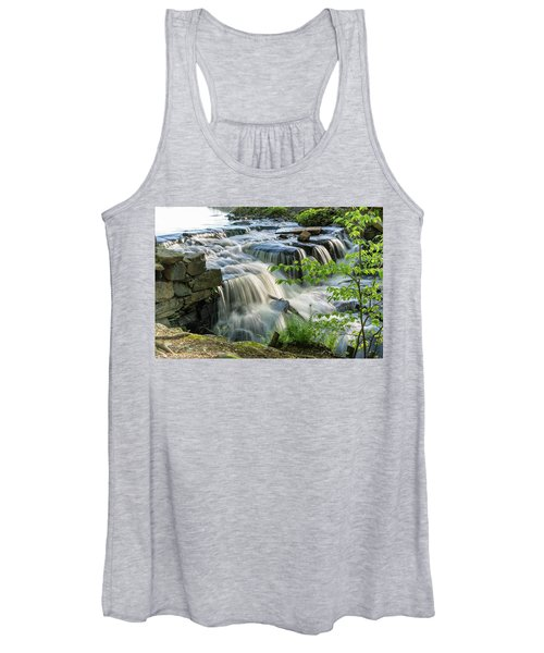 Waterfall At The Old Mill  Women's Tank Top