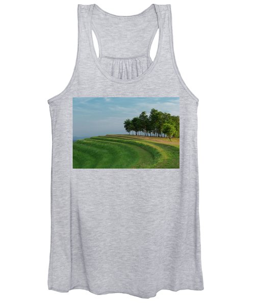 Waves Of Grass Women's Tank Top