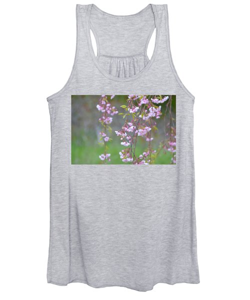 Weeping Cherry Blossoms Women's Tank Top
