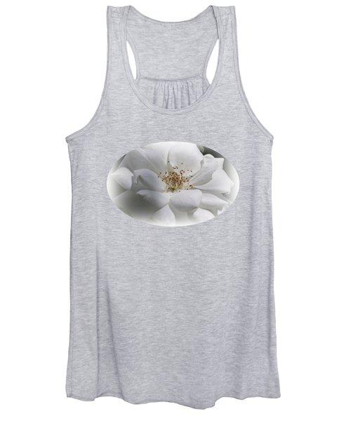 White Rose Women's Tank Top