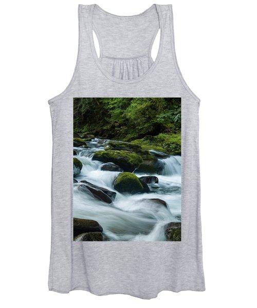 White Water Women's Tank Top