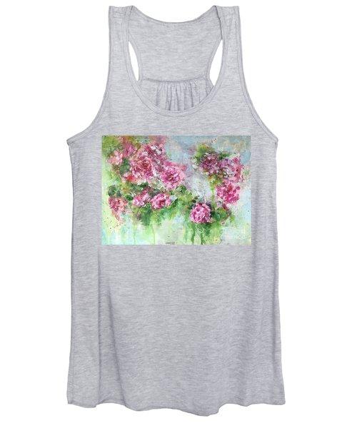 Wild Roses Women's Tank Top