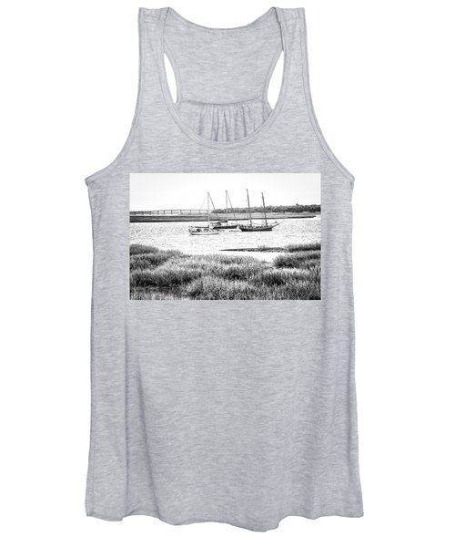 Winter Mooring - Beaufort River Women's Tank Top