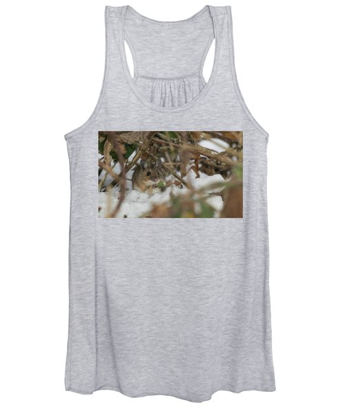 Wood Mouse Women's Tank Top