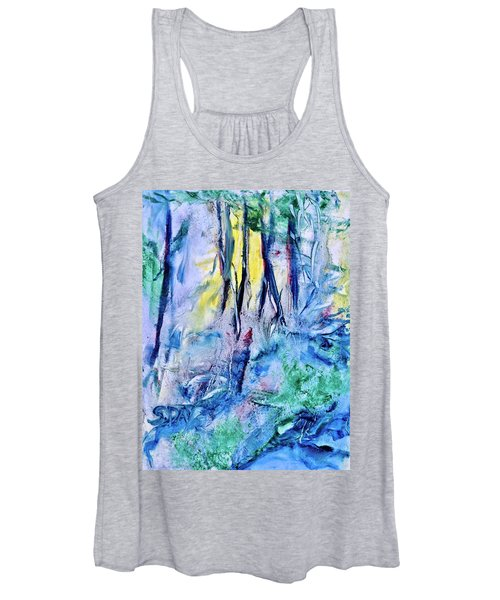 Wooded Stream Women's Tank Top