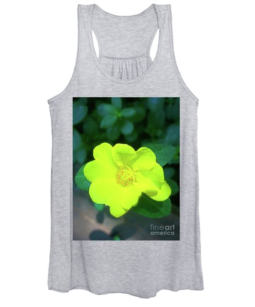 Yellow Hypericum - St Johns Wort Women's Tank Top