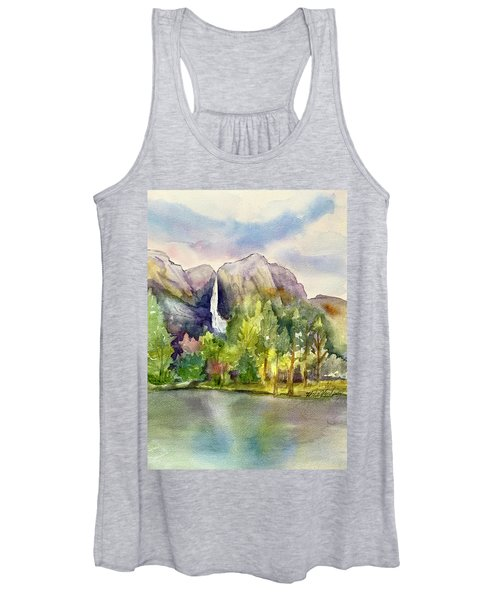Yosemite Waterfalls Women's Tank Top