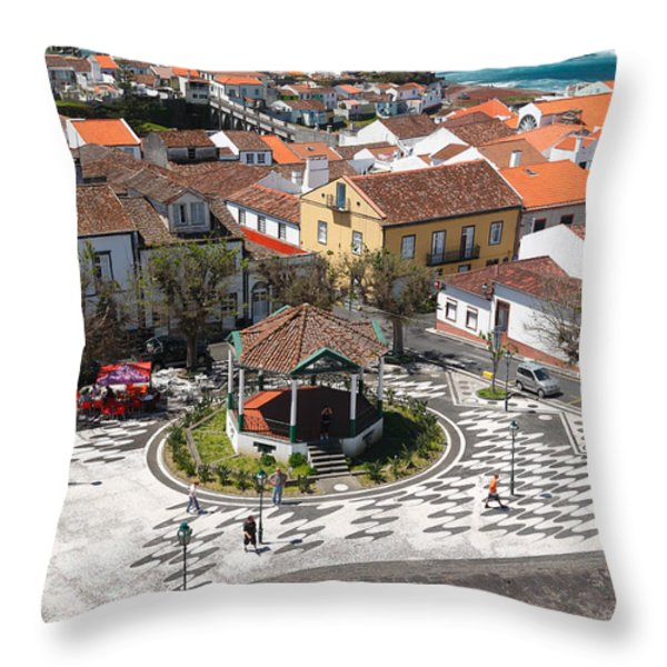 Ribeira Grande - Azores Throw Pillow by Gaspar Avila