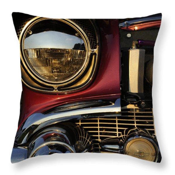 Beaming Throw Pillow by Luke Moore