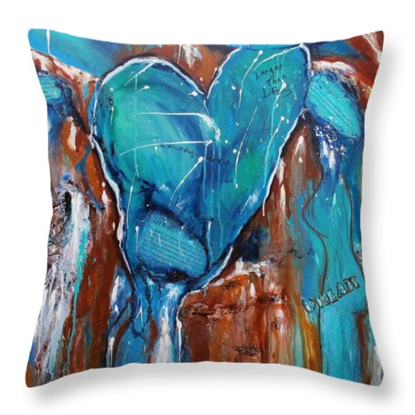 Dream Hope  Imagine  Throw Pillow by Victoria  Johns
