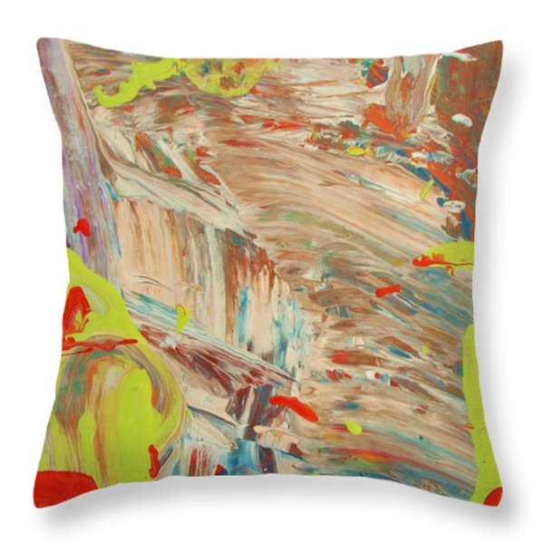 Fairy Tale Throw Pillow by Artist Ai