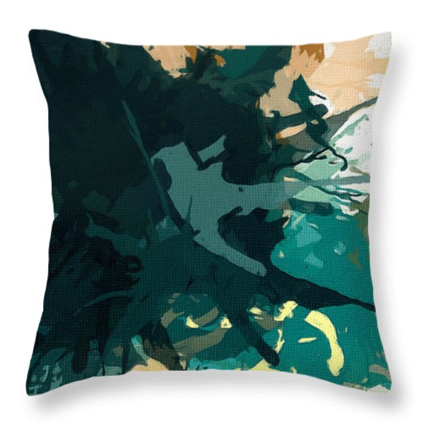 Heightened Energy Throw Pillow by Lourry Legarde