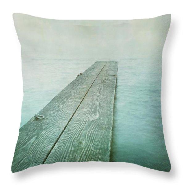 Jetty Throw Pillow by Priska Wettstein
