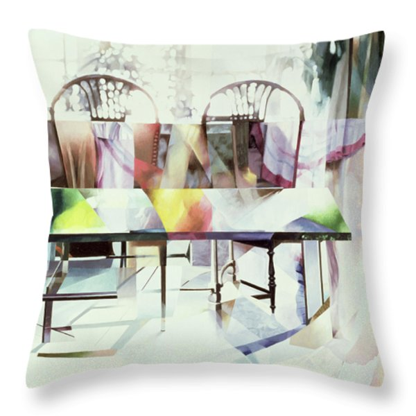 Legato Throw Pillow by Jeremy Annett