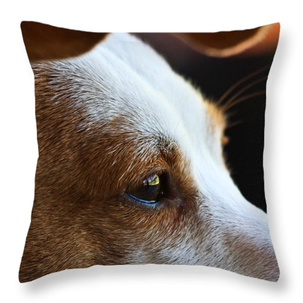 Maggie May Throw Pillow by Mark Alder