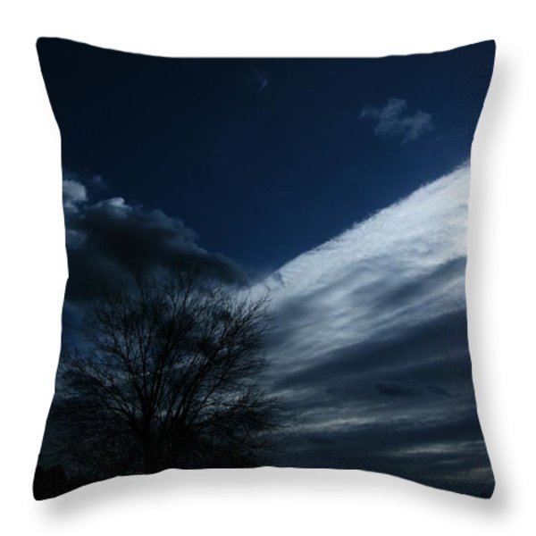 Schattenlicht - Shadowlight Throw Pillow by Mimulux patricia no