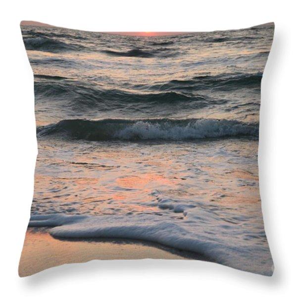 St Joseph Pastels Throw Pillow by Adam Jewell