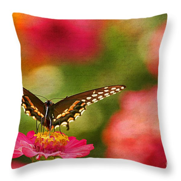 Summer Grace Throw Pillow by Darren Fisher