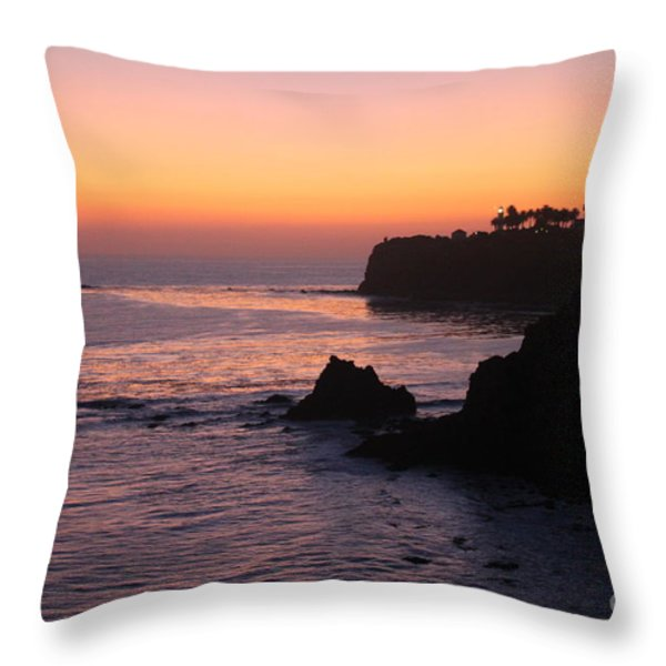 Sunset In Paradise Throw Pillow by Bev Conover