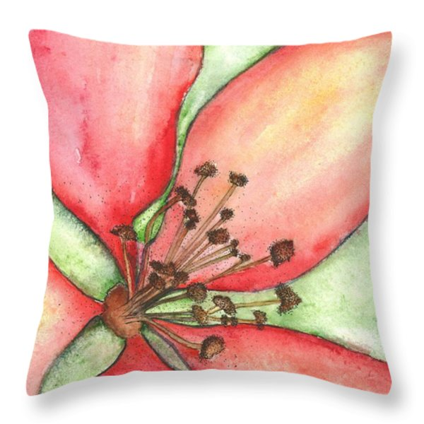 The Crowd Pleaser 1 Throw Pillow by Sherry Harradence