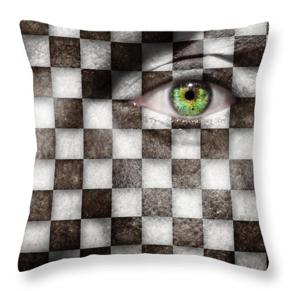 The Winner Throw Pillow by Semmick Photo