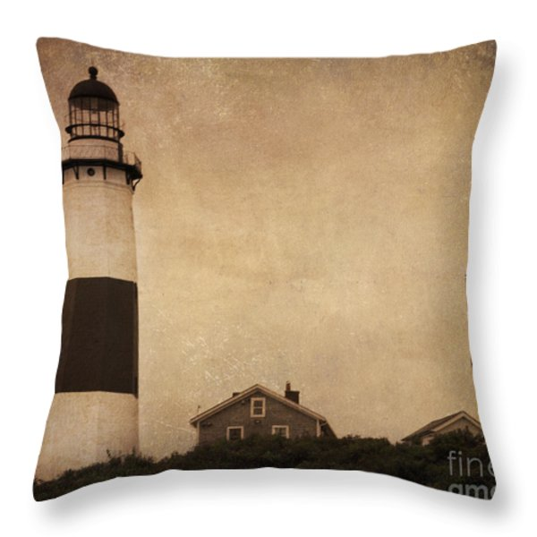 Your Night Light Throw Pillow by A New Focus Photography