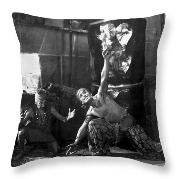 Douglas Fairbanks Throw Pillow by Granger