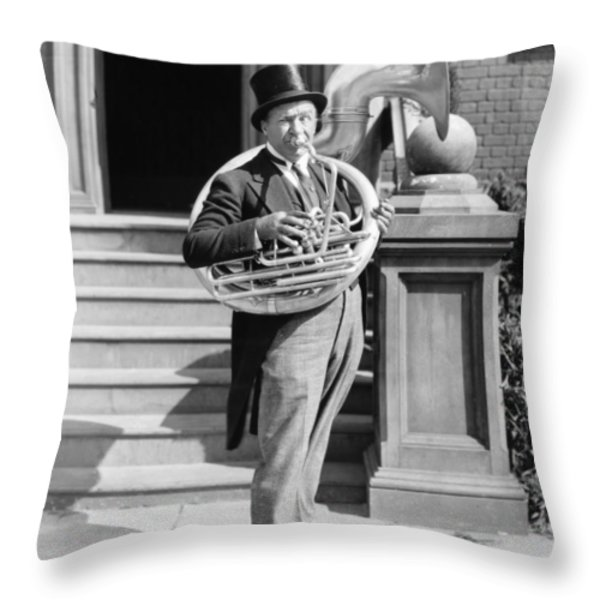 Bringing Up Father, 1928 Throw Pillow by Granger