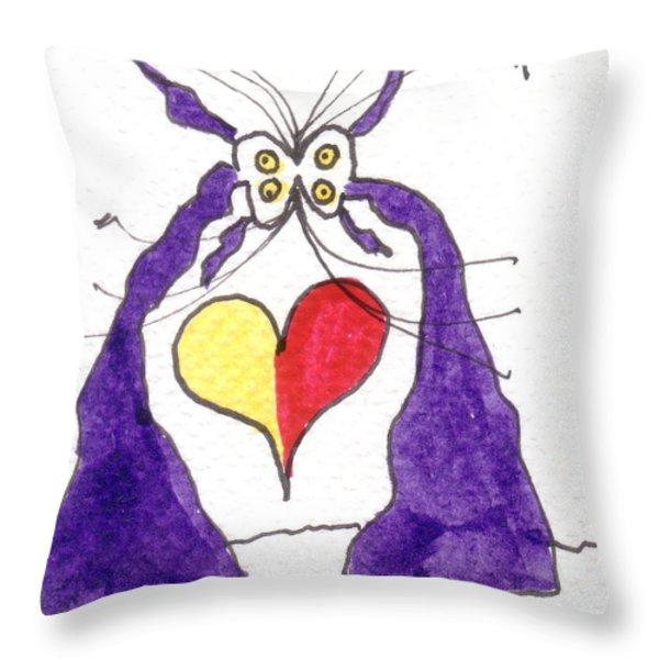 Tis Valentine's Day Throw Pillow by Tis Art