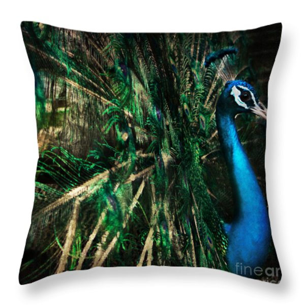 Splendour Throw Pillow by Andrew Paranavitana