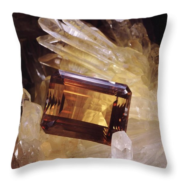 Untitled Throw Pillow by Victor R. Boswell, Jr
