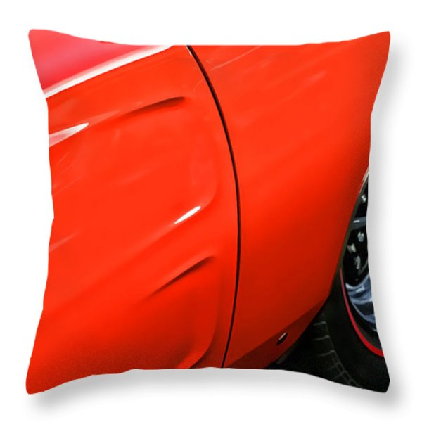 1969 Dodge Charger Rt Throw Pillow by Gordon Dean II