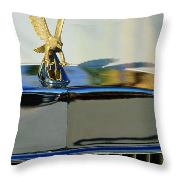1986 Zimmer Golden Spirit Hood Ornament 2 Throw Pillow by Jill Reger